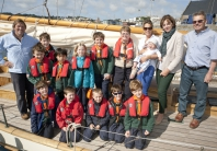 St Martin's Cub Scouts and the Adult Mental Health Group set sail thanks to the James Whalley High Flight Charity